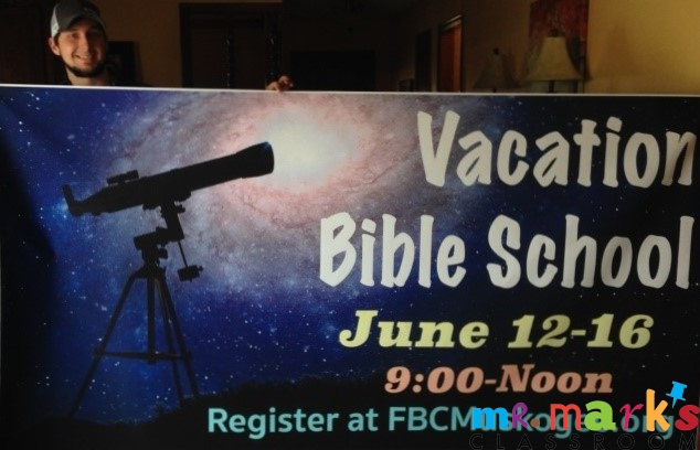 Custom Banners for VBS!