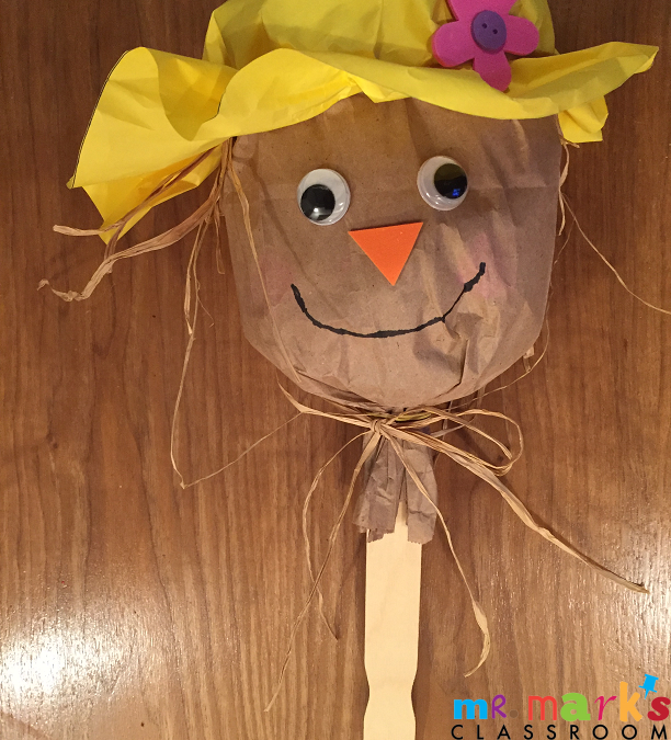 Scarecrow Bag Puppet