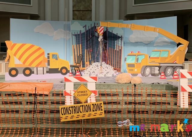 Construction Stage Decorations Bundle
