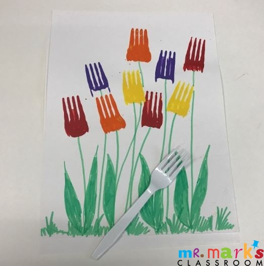 Mother's Day Fork Flowers
